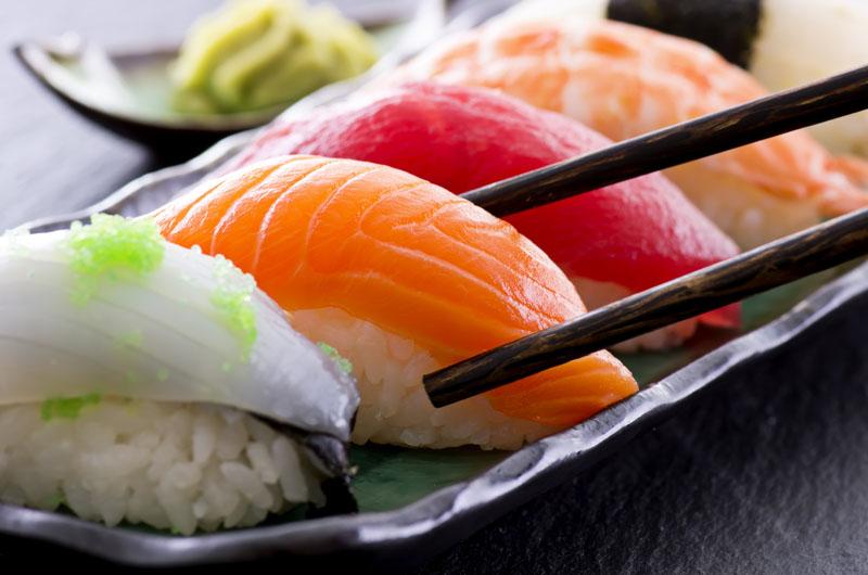 come mangiare sushi