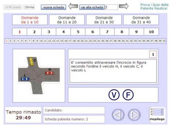 quiz patente guida siti dove provare